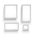 gallery frames vector image vector image