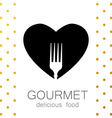 gourmet delicious food vector image vector image