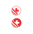 Health-Logo-380x400 vector image vector image