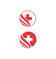 health-logo vector image