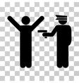 Police Arrest Icon vector image vector image