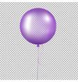 violet balloon vector image