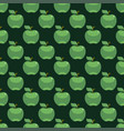 apple green seamless pattern background vector image vector image