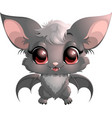 beautiful little bat vector image
