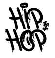 hip hop graffiti tag vector image vector image