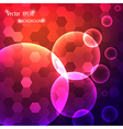 modern background with circles vector image vector image