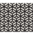 Seamless Black and White Geometric Tiling vector image