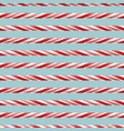 seamless pattern with candy lines vector image