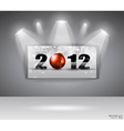 2012 gallery vector image vector image