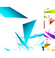 5 different abstract geometric background in 5 vector image