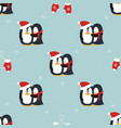christmas seamless pattern for background vector image vector image