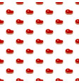 cow steak pattern seamless vector image vector image