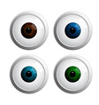 eyeball vector image vector image