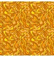 Gold seamless abstract waves pattern