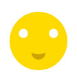 happy smiley face emoticon icon vector image
