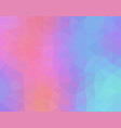 pastel colored abstract geometric background with vector image vector image