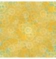Seamless rusty cogwheel pattern vector image vector image
