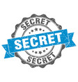 secret stamp sign seal vector image vector image