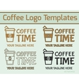 Coffee Logo Design vector image vector image