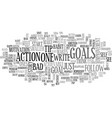 got goals did you reach them text background word vector image vector image