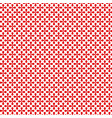 red decorative seamless patterns grungy abstract vector image