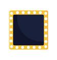 Retro frame design vector image