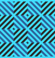 seamless pattern with rhombus and diagonal lines vector image