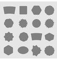 Set of black shield retro vintage badges and label vector image vector image