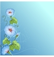 Stylish floral background Design of flowers vector image vector image