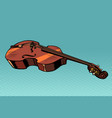 viola musical instrument vector image