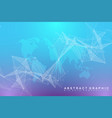 virtual graphic background communication with vector image vector image