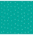 Dashed seamless pattern vector image