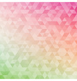 Abstract geometric background with triangles cover vector image vector image