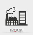 buildings icon design vector image vector image