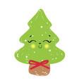 Cute christmas tree fun holid