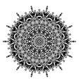 decorative geometric ornament vector image vector image