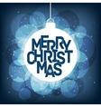 Merry Christmas card design Perfect as vector image vector image