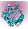 peacock modification vector image