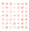 49 house icons vector image vector image