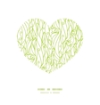 abstract swirls texture heart silhouette pattern vector image