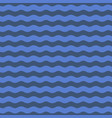 seamless blue wave pattern background vector image vector image