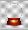 snow ball vector image vector image