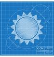 sun icon Eps10 vector image vector image