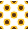 sunflowers seamless pattern abstract modern flat