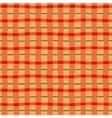 Checkered seamless background vector image