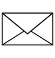 communication email envelope letter mail icon vector image