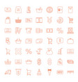 49 buy icons vector image vector image