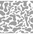 color seamless pattern modern bold vector image