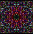 Colorful seamless kaleidoscope pattern background