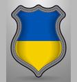 flag of ukraine badge and icon